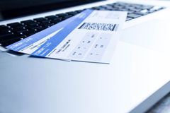 Check in on line Royalty Free Stock Images