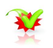Check mark, icon Stock Image