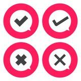 Check mark icon Stock Image