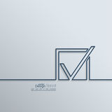 Check mark symbol Royalty Free Stock Photo