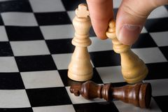 Check Mate Royalty Free Stock Photos