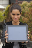 Check My Tablet Out Stock Images