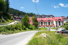 Check-in Pamporovo. Summer. Bulgaria Stock Images
