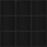 Check pattern leather black background Stock Photo
