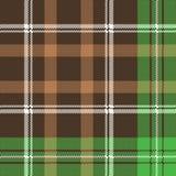 Check pixel plaid fabric texture seamless pattern. Vector illustration stock illustration