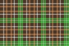 Check pixel plaid fabric texture seamless pattern. Vector illustration Royalty Free Stock Photography