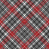 Check plaid diagonal fabric texture seamless pattern. Vector illustration Stock Photo