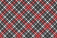 Check plaid diagonal fabric texture seamless pattern. Vector illustration royalty free illustration