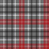 Check plaid diagonal fabric texture seamless pattern. Vector illustration Stock Images