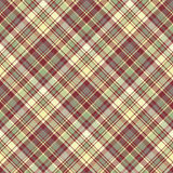 Check plaid fabric texture seamless pattern. Vector illustration Royalty Free Stock Image