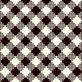 Check Plaid Patterns Stock Photography