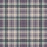 Check plaid pixel fabric texture seamless pattern. Vector illustration Royalty Free Stock Photography
