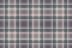 Check plaid pixel fabric texture seamless pattern. Vector illustration Stock Images