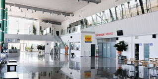 Check-in in Plovdiv aiport - Bulgaria Royalty Free Stock Photos