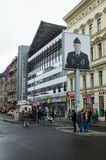 Check Point Charlie Images stock