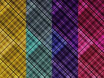Check's Design Shirt Cloth Background Stock Images
