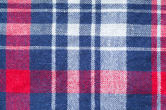 Check shirt fabric Royalty Free Stock Photo