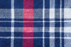 Check shirt fabric Stock Photos
