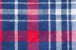 Check shirt fabric pattern and background Royalty Free Stock Photography