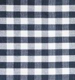 Check shirt fabric pattern Stock Photography