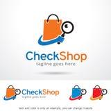 Check Shop Logo Template Design Vector Stock Photos