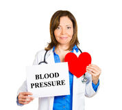 Check your blood pressure Royalty Free Stock Photography
