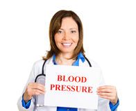 Check your blood pressure Royalty Free Stock Images
