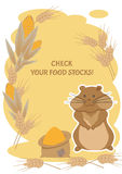 Check your food stocks Royalty Free Stock Image
