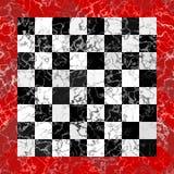 Checkboard de mármore Imagens de Stock Royalty Free