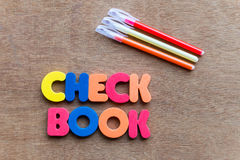 Checkbook Royalty Free Stock Photos