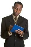 Checkbook Man Stock Images