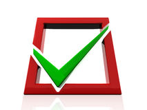 Checkbox Royalty Free Stock Images
