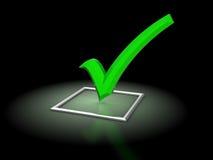 Checkbox Image libre de droits