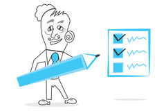Checkbox. Abstract design can be used in many jobs Stock Images