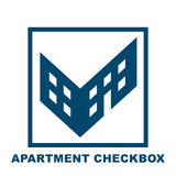 Checkbox in the form of a building Royalty Free Stock Photography
