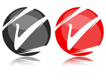 Checkbox icon Stock Images