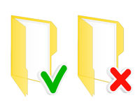 Checkbox omslagpictogrammen Stock Afbeeldingen