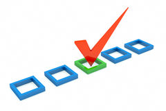 Checkboxes Stock Image