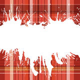 Checked back wirh blots 4. A text blank with checked texture and grungy blots Royalty Free Stock Images