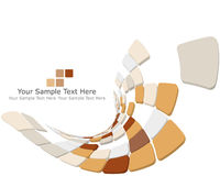 Checked background. Abstract 3d checked  business background for use in web design Royalty Free Stock Photos