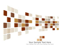 Checked background. Abstract 3d checked  business background for use in web design Stock Image