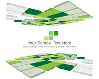 Checked background. Abstract 3d checked  business background for use in web design Stock Photos