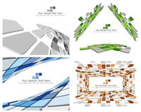 Checked background. Abstract 3d checked  business background for use in web design Royalty Free Stock Image