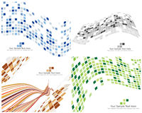 Checked background. Abstract 3d checked  business background for use in web design Stock Photography