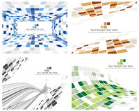 Checked background. Abstract 3d checked  business background for use in web design Stock Photo