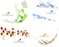 Checked background. Abstract 3d checked  business background for use in web design Royalty Free Stock Photography