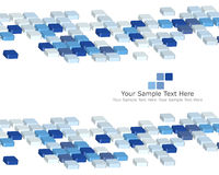 Checked background. Abstract 3d checked  business background for use in web design Royalty Free Stock Images
