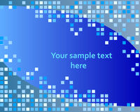 Checked background royalty free illustration