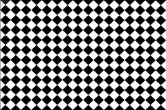 Checked  black , white background Royalty Free Stock Images