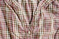 Checked blouse Stock Photos